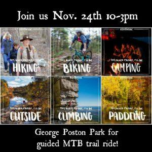We Optn' Outside @ George Poston Park MTB Trails | Gastonia | North Carolina | United States