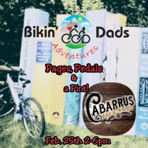 Pages, Pedals & a Pint Tour @ Cabarrus Brewing Co. | Concord | North Carolina | United States