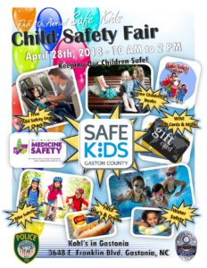 4th Annual Kid's Safety Fair @ Kohl's | Gastonia | North Carolina | United States