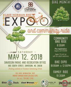 Lake Norman Bike Expo & Community Ride @ Town of Davidson Parks & Recreation Department | Davidson | North Carolina | United States