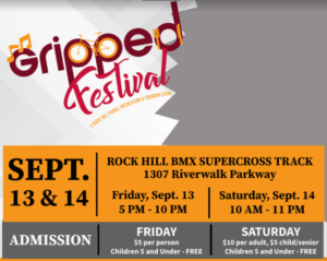 Pages 'n Pedals Tour at  the GRIPPED Festival @ Rock Hill BMX Supercross Track